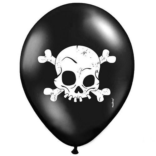 halloween-ballonnen-skull