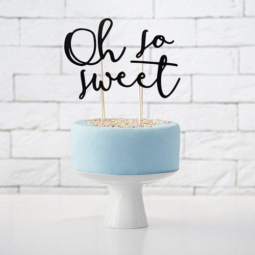 feest-artikelen-cake-topper-oh-my-sweet-zwart