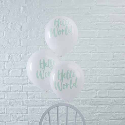 feestartikelen-hello-world-ballonnen