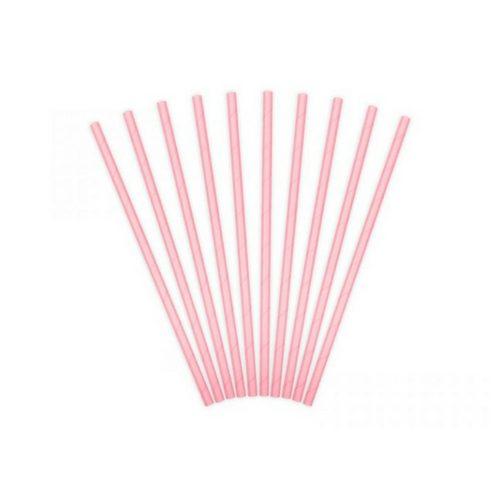 feestartikelen-papieren-rietjes-oud-roze