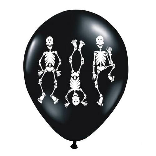 halloween-ballonnen-skeletons