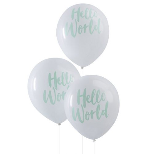 hello-world-ballonnen