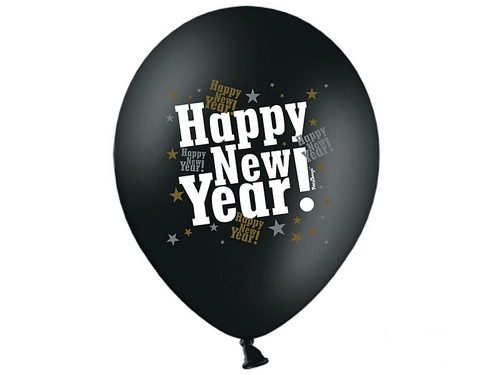 happy-new-year-ballonnen
