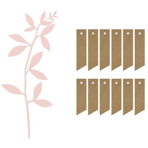 feest-artikelen-decoratiepakket-leaves-labels-oud-roze