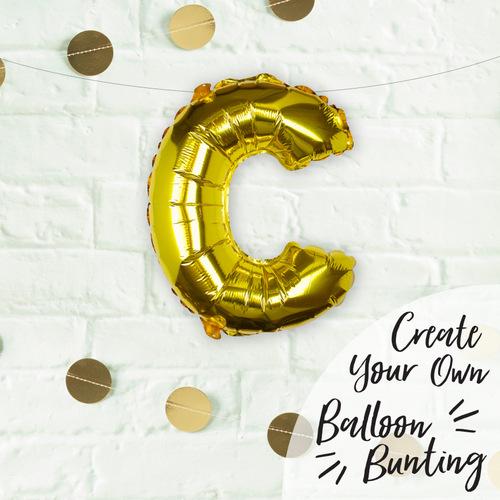 folieballon-goud-letter-c