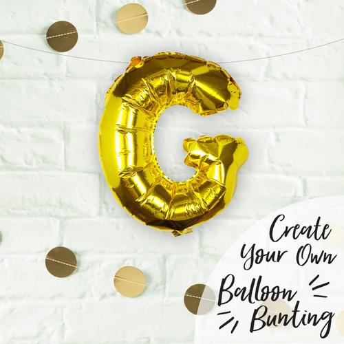 folieballon-goud-letter-g