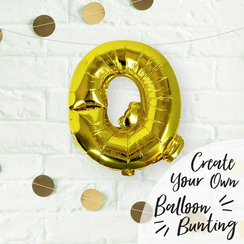 folieballon-goud-letter-q