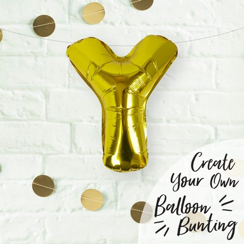folieballon-goud-letter-y