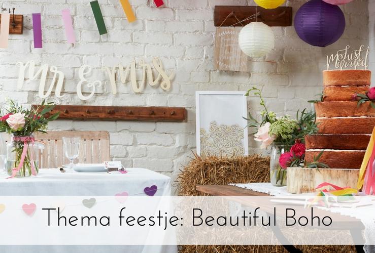 Thema feestje: Beautiful Boho