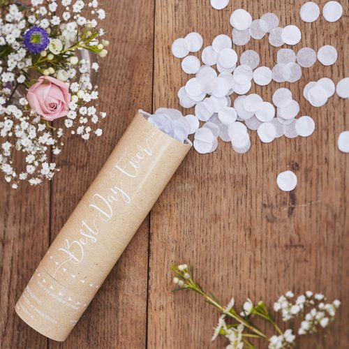 Confetti-kanon-Best-Day-Ever-Rustic-Country