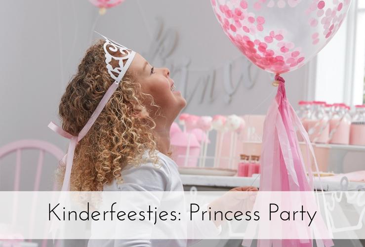 Thema feestje: Prinsessen kinderfeestje