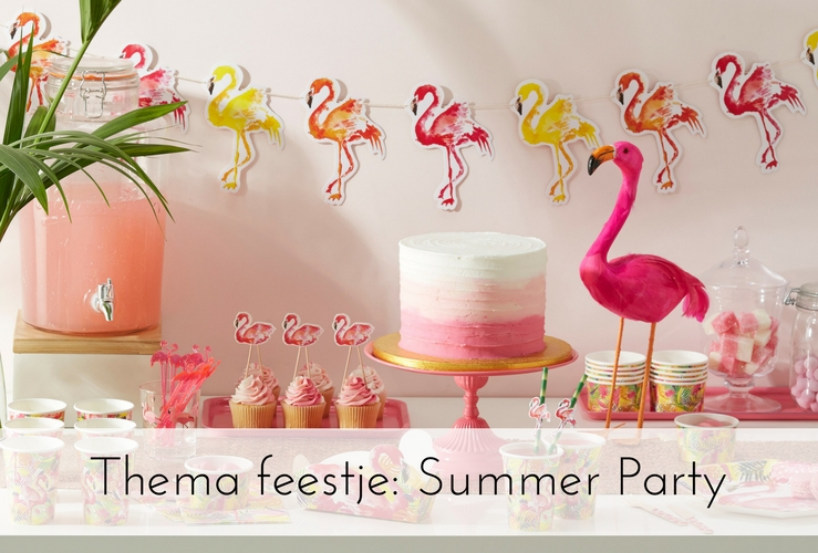 Thema feestje: Summer Party