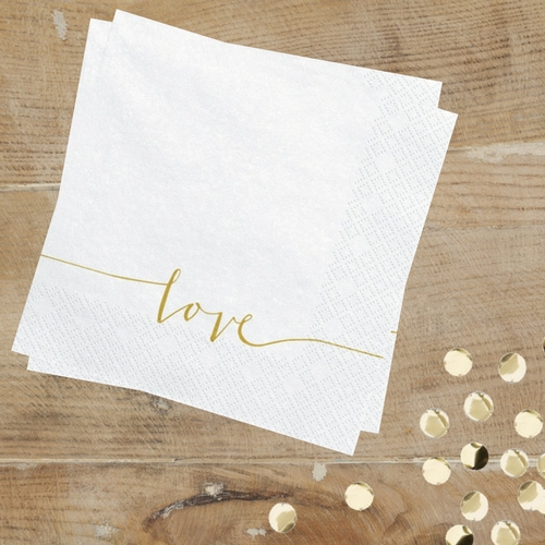 servetten-wit-gold-love