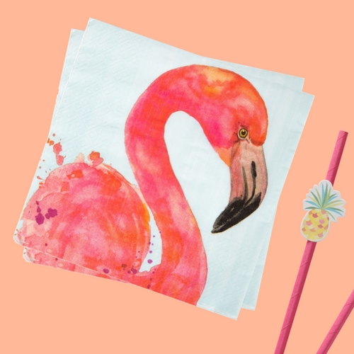 servetten-fancy-flamingo