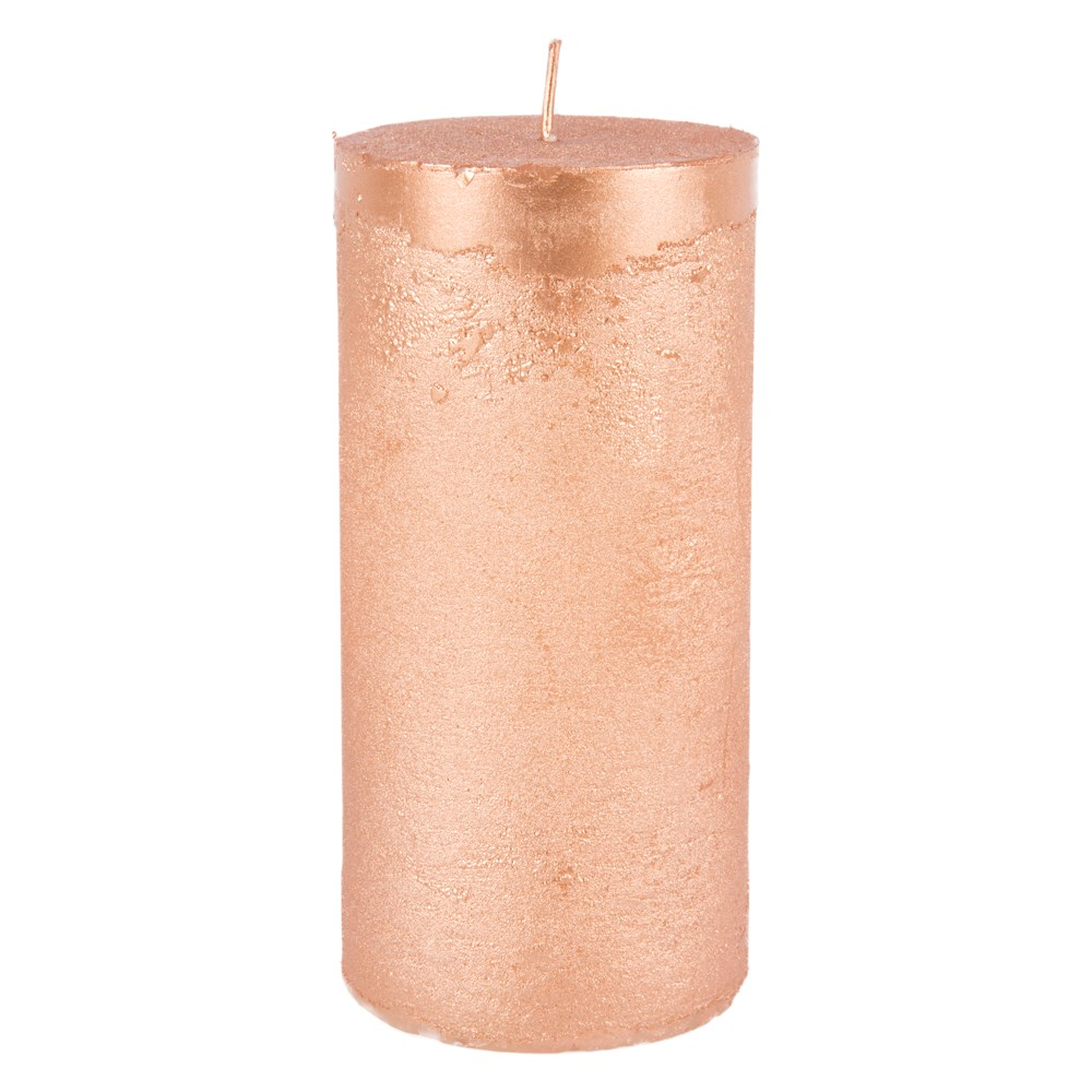 rustieke-kaars-copper-metallic-large