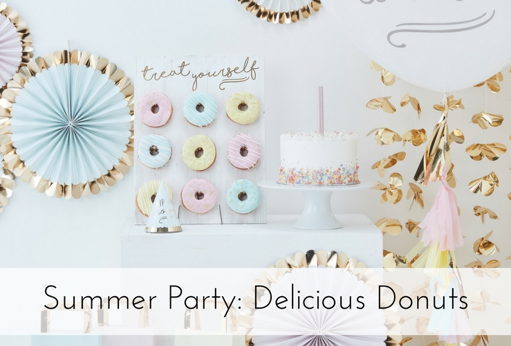 Summer Party: Delicious Donuts