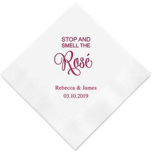 servetten-smell-the-rose-gepersonaliseerd