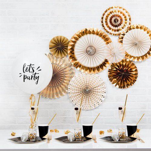 feestartikelen-paper-fans-gold-foil