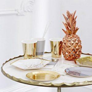 centrepiece-metallic-pineapple-rosegoud-2