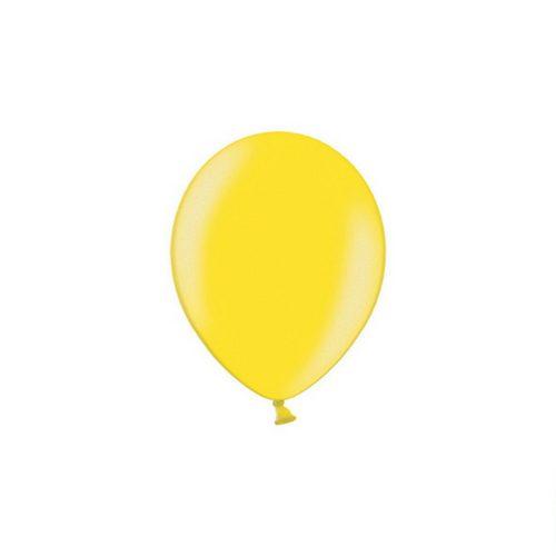 feest-artikelen-metallic-ballonnen-geel
