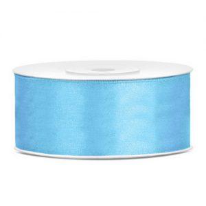 feest-artikelen-satijnlint-25mm-licht-blauw