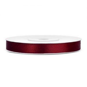 feest-artikelen-satijnlint-6mm-donker-rood