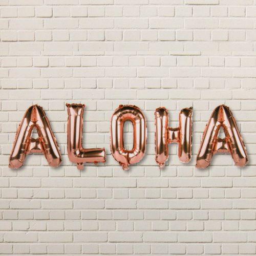 folieballonnen-aloha-rosegoud