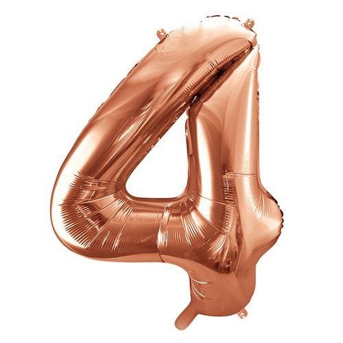 mega-folieballon-rosegoud-cijfer-4