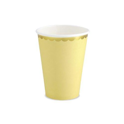 papieren-bekertjes-pastel-perfection-geel