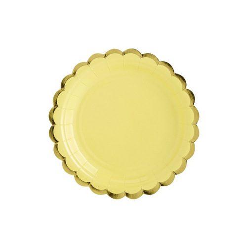 papieren-bordjes-pastel-perfection-geel