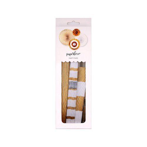 bruiloft-decoratie-paper-fans-gold-white-3