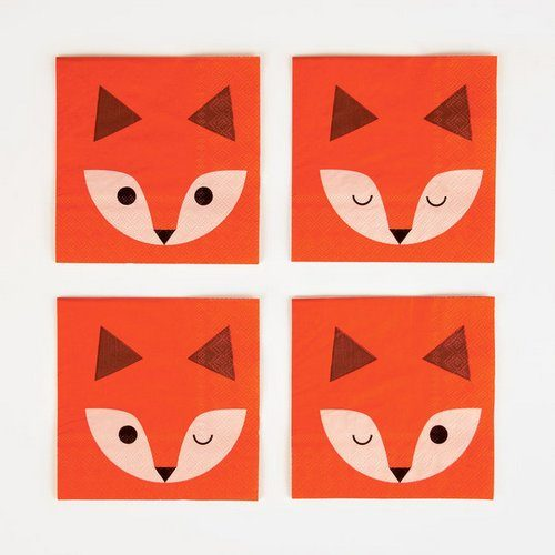 feestartikelen-gebaksservetten-mini-fox