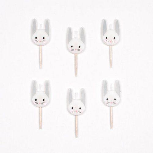 feestartikelen-kaarsen-mini-rabbit