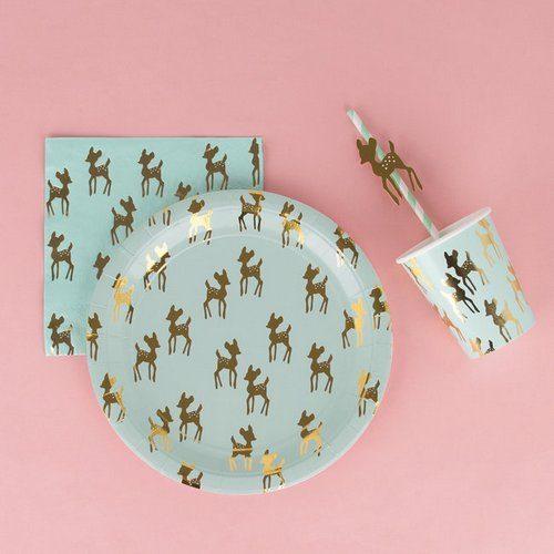 feestartikelen-papieren-bekertjes-golden-fawn