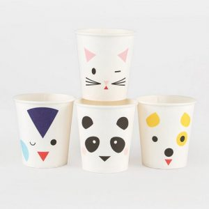 feestartikelen-papieren-bekertjes-mini-animals
