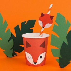 feestartikelen-papieren-bekertjes-mini-fox