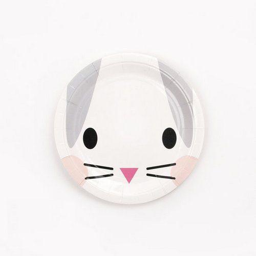 feestartikelen-papieren-bordjes-mini-rabbit