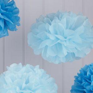 feestartikelen-pompom-set-baby-dark-blue-vintage-lace
