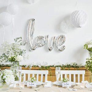 folieballon-modern-romance-zilver