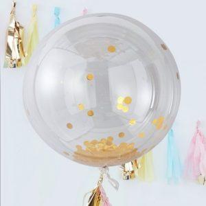 mega-ballon-confetti-goud