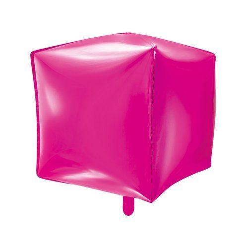 feestartikelen-folieballon-cubic-fuchsia-2