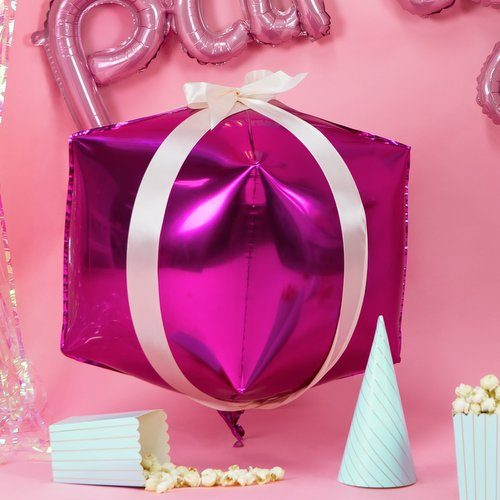 feestartikelen-folieballon-cubic-fuchsia-3