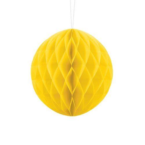 feestartikelen-honeycomb-geel-20cm