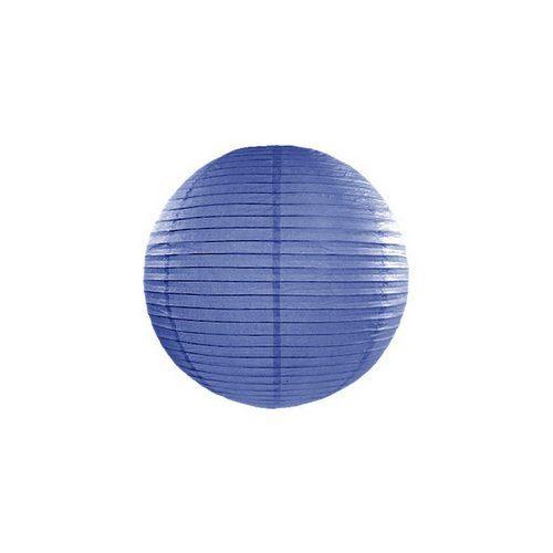 feestartikelen-lampion-royal-blue-20-cm