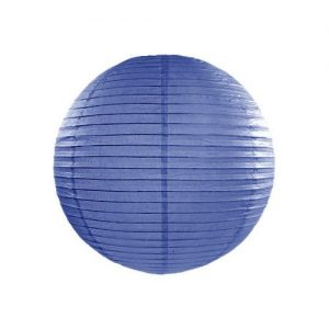 feestartikelen-lampion-royal-blue-35-cm