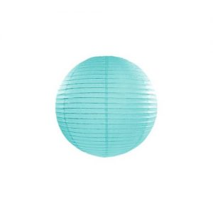 feestartikelen-lampion-tiffany-blue-20-cm