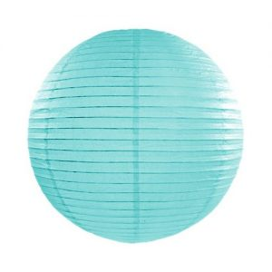 feestartikelen-lampion-tiffany-blue-45-cm