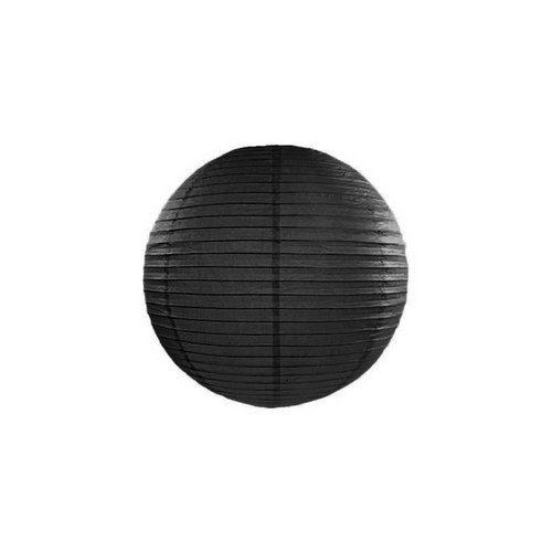 feestartikelen-lampion-zwart-20-cm