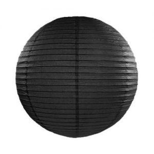 feestartikelen-lampion-zwart-45-cm