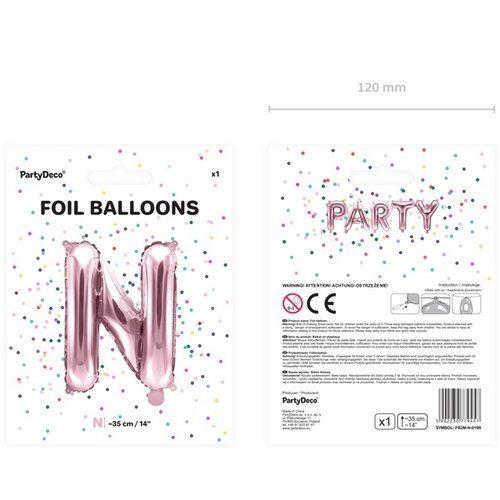 feestartikelen-large-folieballon-rosegoud-n-2
